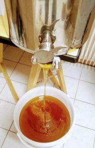 Frisch geschleuderter Honig